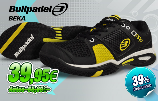 oferta zapatillas bullpadel