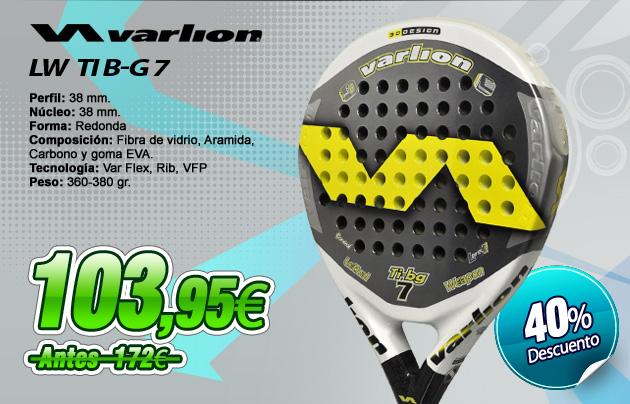 comprar palas de padel LETHAL WEAPON TI B-G 7