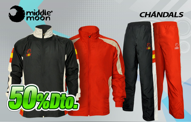 comprar ropa chandals middle moon padel